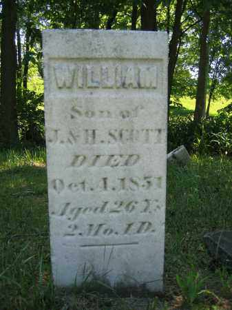 SCOTT, WILLIAM - Union County, Ohio | WILLIAM SCOTT - Ohio Gravestone Photos