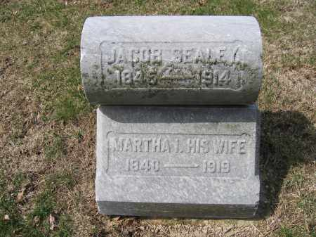 SEALEY, MARTHA - Union County, Ohio | MARTHA SEALEY - Ohio Gravestone Photos