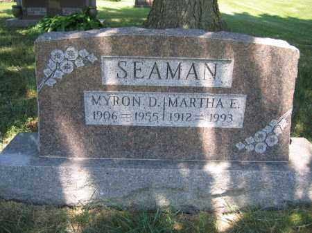 SEAMAN, MYRON D. - Union County, Ohio | MYRON D. SEAMAN - Ohio Gravestone Photos