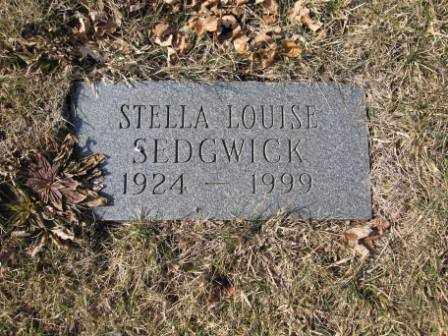 SEDGWICK, STELLA LOUISE - Union County, Ohio | STELLA LOUISE SEDGWICK - Ohio Gravestone Photos
