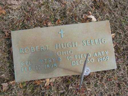 SEELIG, ROBERT HUGH - Union County, Ohio | ROBERT HUGH SEELIG - Ohio Gravestone Photos