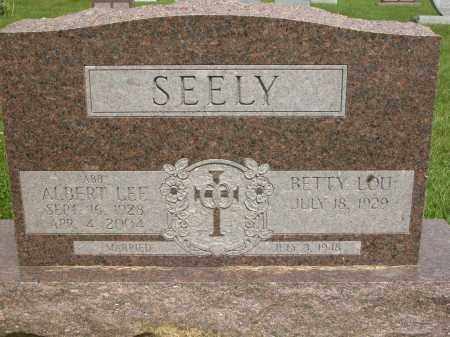 SEELY, BETTY LOU - Union County, Ohio | BETTY LOU SEELY - Ohio Gravestone Photos