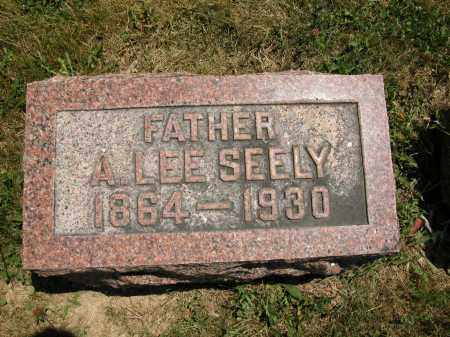 SEELY, A. LEE - Union County, Ohio | A. LEE SEELY - Ohio Gravestone Photos