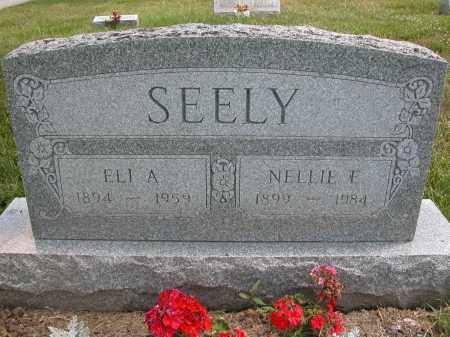 SEELY, NELLIE E. - Union County, Ohio | NELLIE E. SEELY - Ohio Gravestone Photos