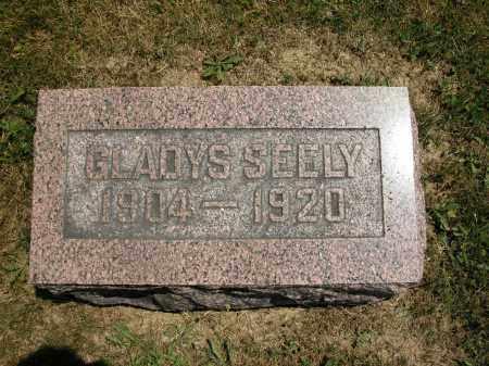SEELY, GLADYS - Union County, Ohio | GLADYS SEELY - Ohio Gravestone Photos