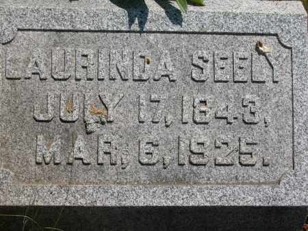 SEELY, LAURINDA - Union County, Ohio | LAURINDA SEELY - Ohio Gravestone Photos