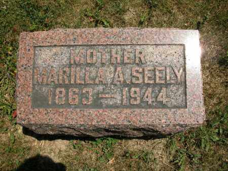 SEELY, MARILLA A. - Union County, Ohio | MARILLA A. SEELY - Ohio Gravestone Photos