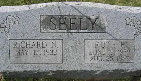 SEELY, RICHARD N. - Union County, Ohio | RICHARD N. SEELY - Ohio Gravestone Photos