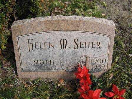 SEITER, HELEN M. - Union County, Ohio | HELEN M. SEITER - Ohio Gravestone Photos