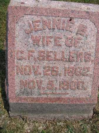 SELLERS, JENNIE B. - Union County, Ohio | JENNIE B. SELLERS - Ohio Gravestone Photos