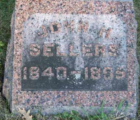 SELLERS, JOHN H - Union County, Ohio | JOHN H SELLERS - Ohio Gravestone Photos