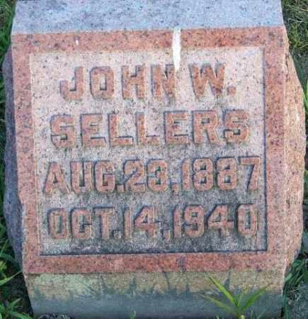 SELLERS, JOHN W - Union County, Ohio | JOHN W SELLERS - Ohio Gravestone Photos