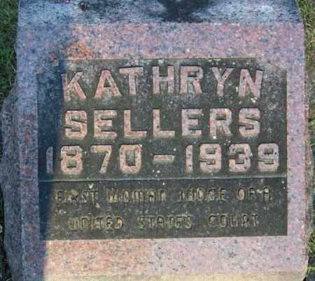 SELLERS, KATHRYN - Union County, Ohio | KATHRYN SELLERS - Ohio Gravestone Photos