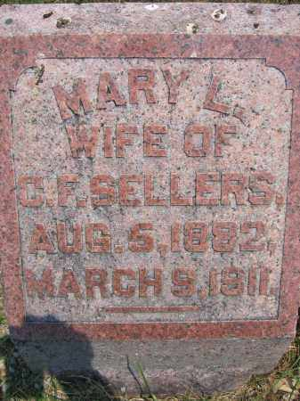 SELLERS, MARY L. - Union County, Ohio | MARY L. SELLERS - Ohio Gravestone Photos