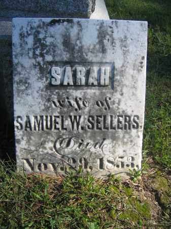 SELLERS, SARAH - Union County, Ohio | SARAH SELLERS - Ohio Gravestone Photos