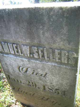 SELLERS, SAMUEL W. - Union County, Ohio | SAMUEL W. SELLERS - Ohio Gravestone Photos