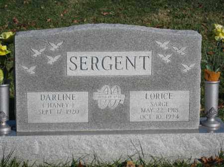 SERGENT, DARLINE - Union County, Ohio | DARLINE SERGENT - Ohio Gravestone Photos