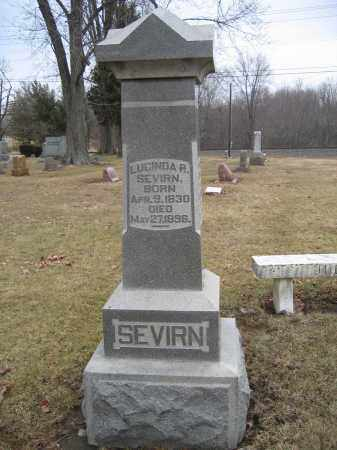 SEVIRN, LUCINDA R. - Union County, Ohio | LUCINDA R. SEVIRN - Ohio Gravestone Photos