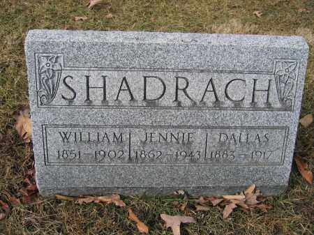 SHADRACH, WILLIAM - Union County, Ohio | WILLIAM SHADRACH - Ohio Gravestone Photos