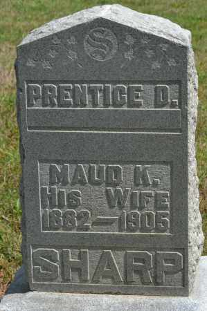 SHARP, PRENTICE D. - Union County, Ohio | PRENTICE D. SHARP - Ohio Gravestone Photos