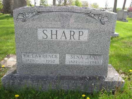 SHARP, SENA JANE - Union County, Ohio | SENA JANE SHARP - Ohio Gravestone Photos