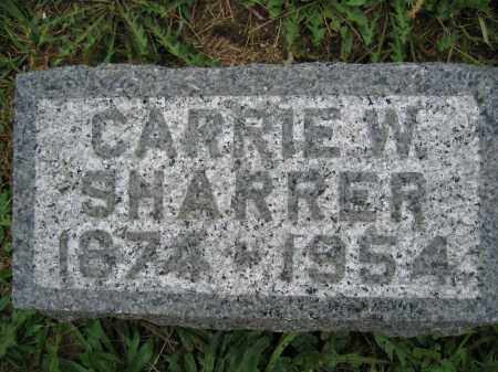SHARRER, CARRIE W. - Union County, Ohio | CARRIE W. SHARRER - Ohio Gravestone Photos