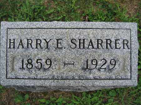SHARRER, HARRY E. - Union County, Ohio | HARRY E. SHARRER - Ohio Gravestone Photos