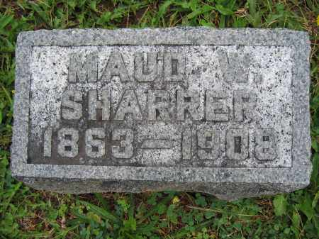 SHARRER, MAUD W. - Union County, Ohio | MAUD W. SHARRER - Ohio Gravestone Photos