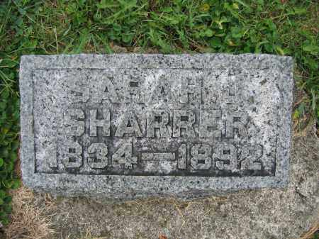 SHARRER, SARAH J. - Union County, Ohio | SARAH J. SHARRER - Ohio Gravestone Photos