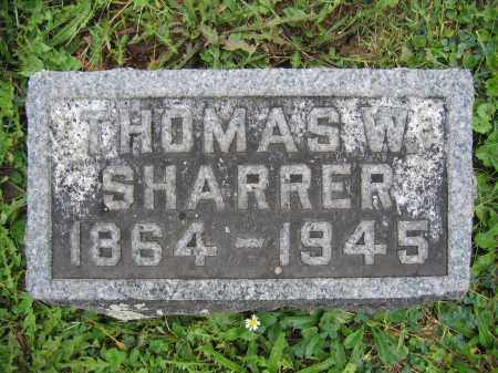 SHARRER, THOMAS W. - Union County, Ohio | THOMAS W. SHARRER - Ohio Gravestone Photos
