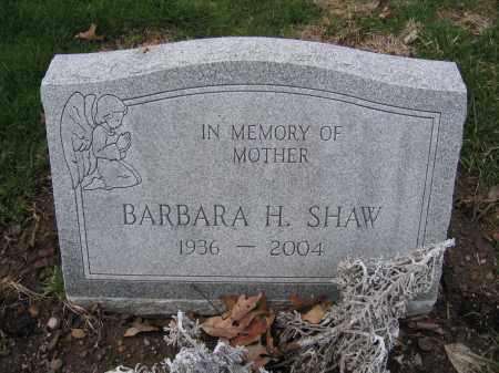SHAW, BARBARA H. - Union County, Ohio | BARBARA H. SHAW - Ohio Gravestone Photos