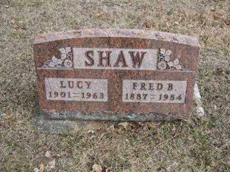 SHAW, LUCY - Union County, Ohio | LUCY SHAW - Ohio Gravestone Photos