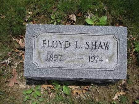 SHAW, FLOYD - Union County, Ohio | FLOYD SHAW - Ohio Gravestone Photos