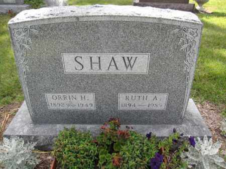 SHAW, ORRIN HAMILTON - Union County, Ohio | ORRIN HAMILTON SHAW - Ohio Gravestone Photos