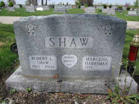 SHAW, MARGENA HARRIMAN - Union County, Ohio | MARGENA HARRIMAN SHAW - Ohio Gravestone Photos