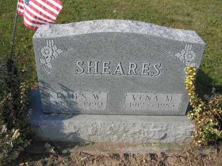 SHEARES, JAMES W. - Union County, Ohio | JAMES W. SHEARES - Ohio Gravestone Photos