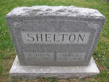 SHELTON, ESTELLA - Union County, Ohio | ESTELLA SHELTON - Ohio Gravestone Photos