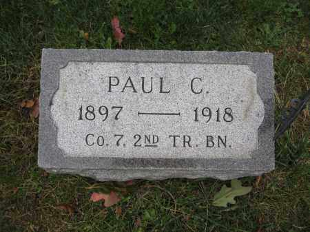 SHELTON, PAUL C. - Union County, Ohio | PAUL C. SHELTON - Ohio Gravestone Photos