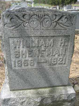 SHENEMAN, WILLIAM H. - Union County, Ohio | WILLIAM H. SHENEMAN - Ohio Gravestone Photos