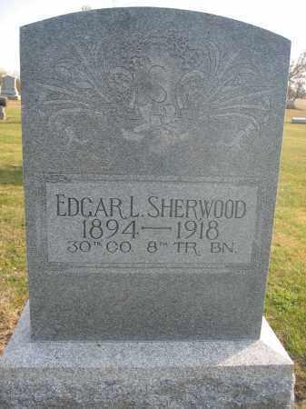 SHERWOOD, EDGAR L. - Union County, Ohio | EDGAR L. SHERWOOD - Ohio Gravestone Photos