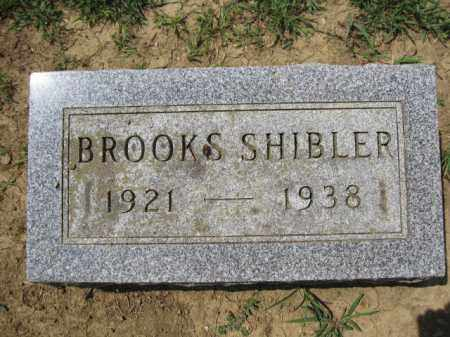 SHIBLER, BROOKS - Union County, Ohio | BROOKS SHIBLER - Ohio Gravestone Photos