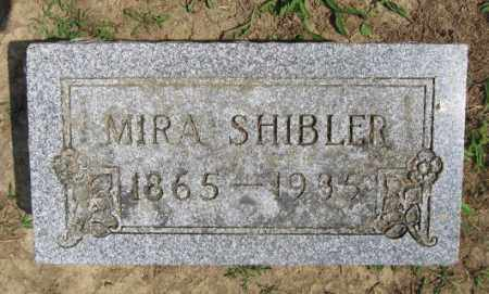 SHIBLER, MIRA - Union County, Ohio | MIRA SHIBLER - Ohio Gravestone Photos