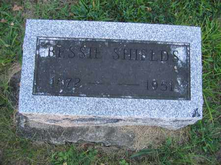 SHIELDS, BESSIE - Union County, Ohio | BESSIE SHIELDS - Ohio Gravestone Photos
