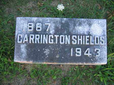 SHIELDS, CARRINGTON - Union County, Ohio | CARRINGTON SHIELDS - Ohio Gravestone Photos