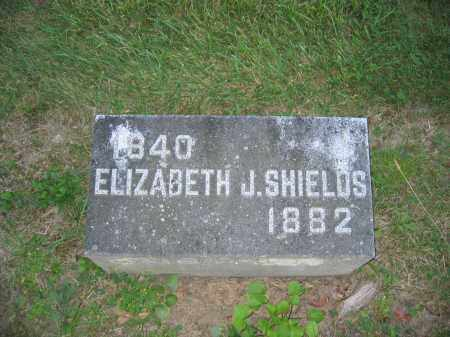 SHIELDS, ELIZABETH J. - Union County, Ohio | ELIZABETH J. SHIELDS - Ohio Gravestone Photos