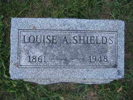 SHIELDS, LOUISE A. - Union County, Ohio | LOUISE A. SHIELDS - Ohio Gravestone Photos