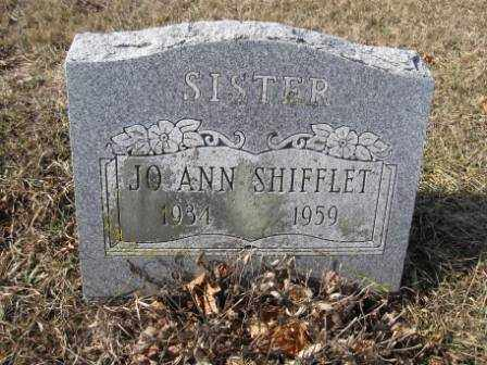 SHIFFLET, JO ANN - Union County, Ohio | JO ANN SHIFFLET - Ohio Gravestone Photos