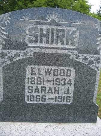 SHIRK, ELWOOD - Union County, Ohio | ELWOOD SHIRK - Ohio Gravestone Photos