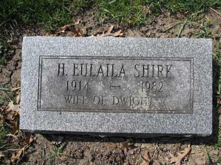 SHIRK, H. EULAILA - Union County, Ohio | H. EULAILA SHIRK - Ohio Gravestone Photos