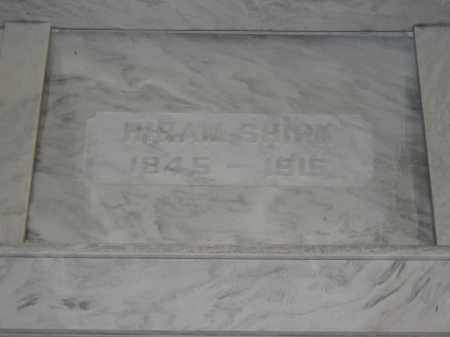 SHIRK, HIRAM - Union County, Ohio | HIRAM SHIRK - Ohio Gravestone Photos
